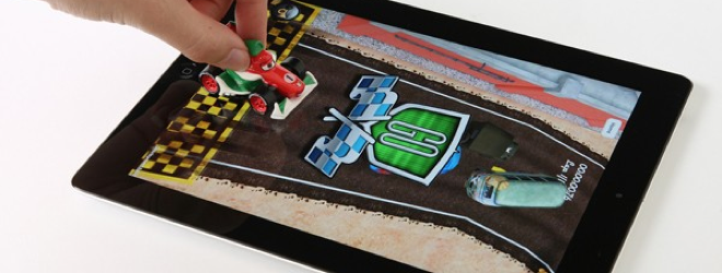 These Disney Cars toys interact with the iPad in a super cool way