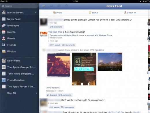Facebook for iPad has been 'feature complete' since May, engineer tells us why he quit for ...