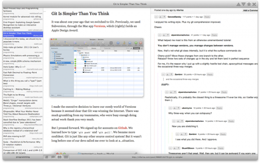 fullscreen 520x325  Introducing Envelope, a reddit client for Mac OS X