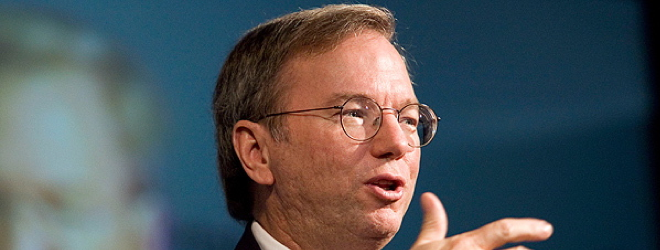 The entire oral and prepared written statement of Google's Eric Schmidt to Senate