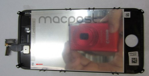 iPhone 5G LCD 2 1 520x268 Why this image is most likely a retooled iPhone 4 prototype, not the iPhone 5 [Updated]