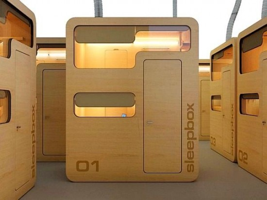 This tiny, portable hotel room could ease your layover woes