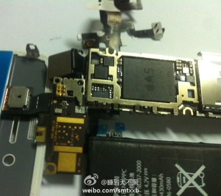 iphone 5 chipset Why this image is most likely a retooled iPhone 4 prototype, not the iPhone 5 [Updated]