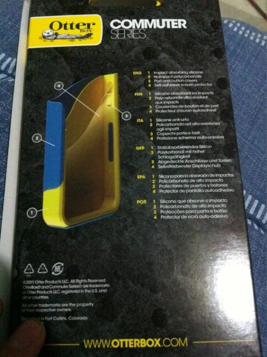 large 520x695 iPhone 4S name surfaces on new Otterbox case packaging