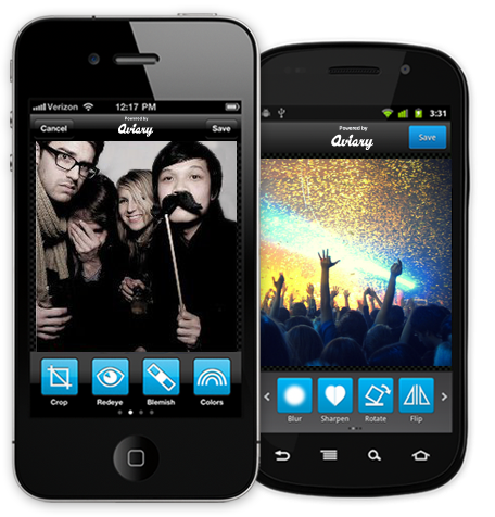 phone21 Aviary to power every mobile photo app starting with PicPlz, OpenPhoto and more