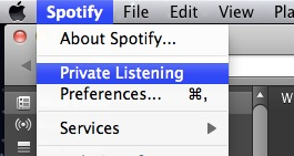 private1 Spotify rolls out Private Listening mode to counter Facebook sharing complaints