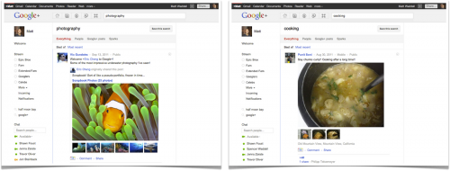 search 500x190 Google adds search to Google+, letting you find public or private posts