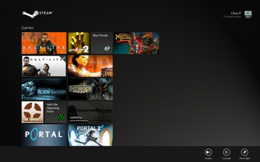 steam3 520x325 If Steam was remade for Windows 8