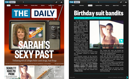 the daily uk Rupert Murdochs The Daily iPad app arrives in UK iTunes stores