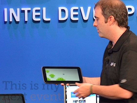 Upcoming Android versions will be tweaked to run on Intel hardware