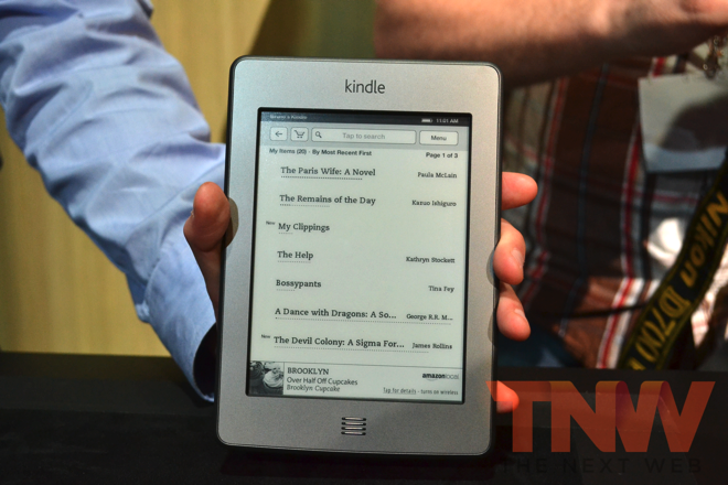 Most of the Amazon Kindles introduced today cost more without 'Special Offers'
