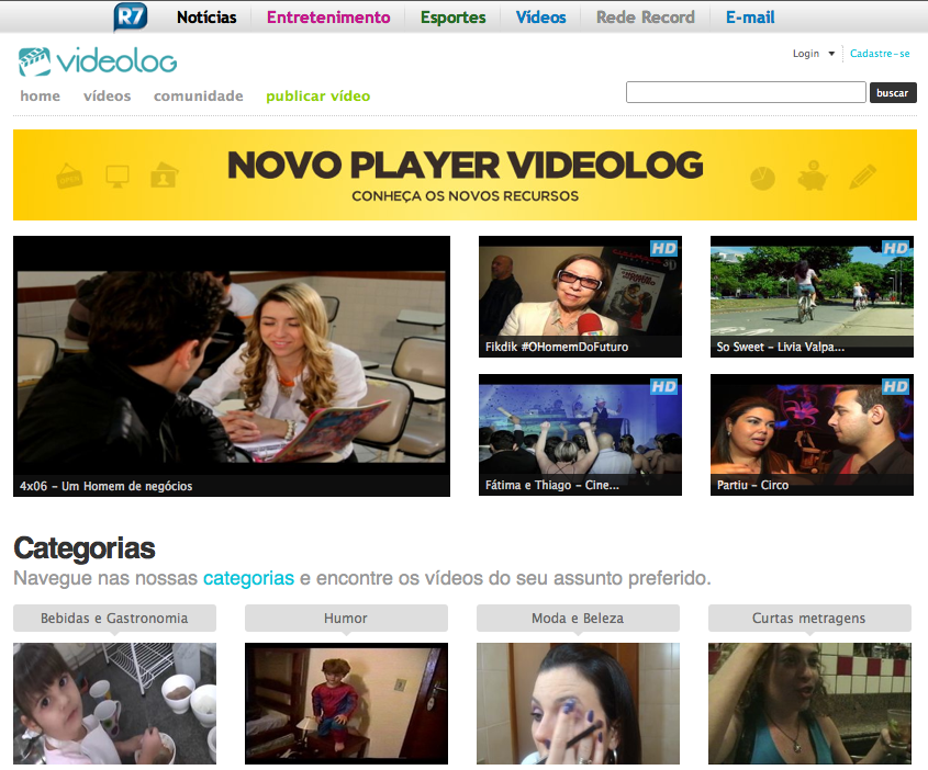 videolog small Brazilian online video: interesting move as Samba Tech buys Videolog.tv [Update: Deal called off]