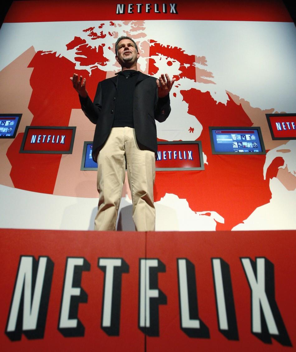 Netflix, gambling on international markets