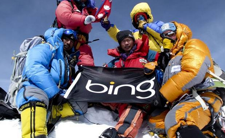 Bing fails to grow in September