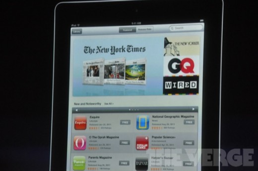 8ee27c29 b672 4549 a618 56ff555a9f5f 520x344 Apple announces NewsStand partners: New York Times, Wired, National Geographic and more