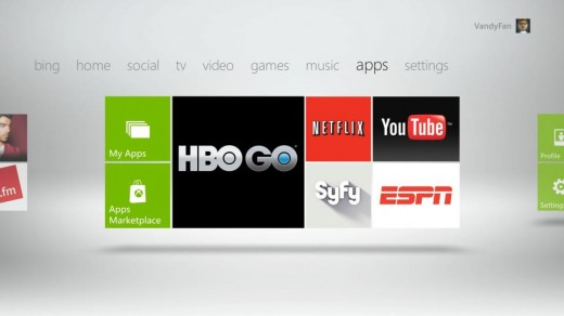 HBO 520x292 Microsoft to add BBC, HBO, YouTube, Bing voice search & more to Xbox Live
