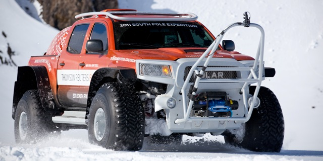 This hi-tech polar vehicle was built to break the South Pole overland record