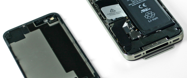 iPhone 4S teardown: 512MB of RAM, bigger 5.3 WHr battery and an upgraded vibrator
