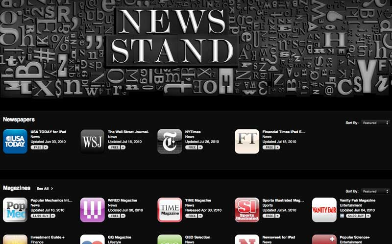 iOS magazine publisher sees Apple's Newsstand boost sales by 750%