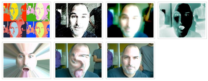 These photos will make you smile: Steve Jobs testing Photobooth
