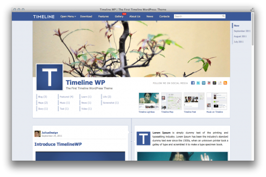 Timeline WP is Timeline for WordPress - TNW Design and Dev