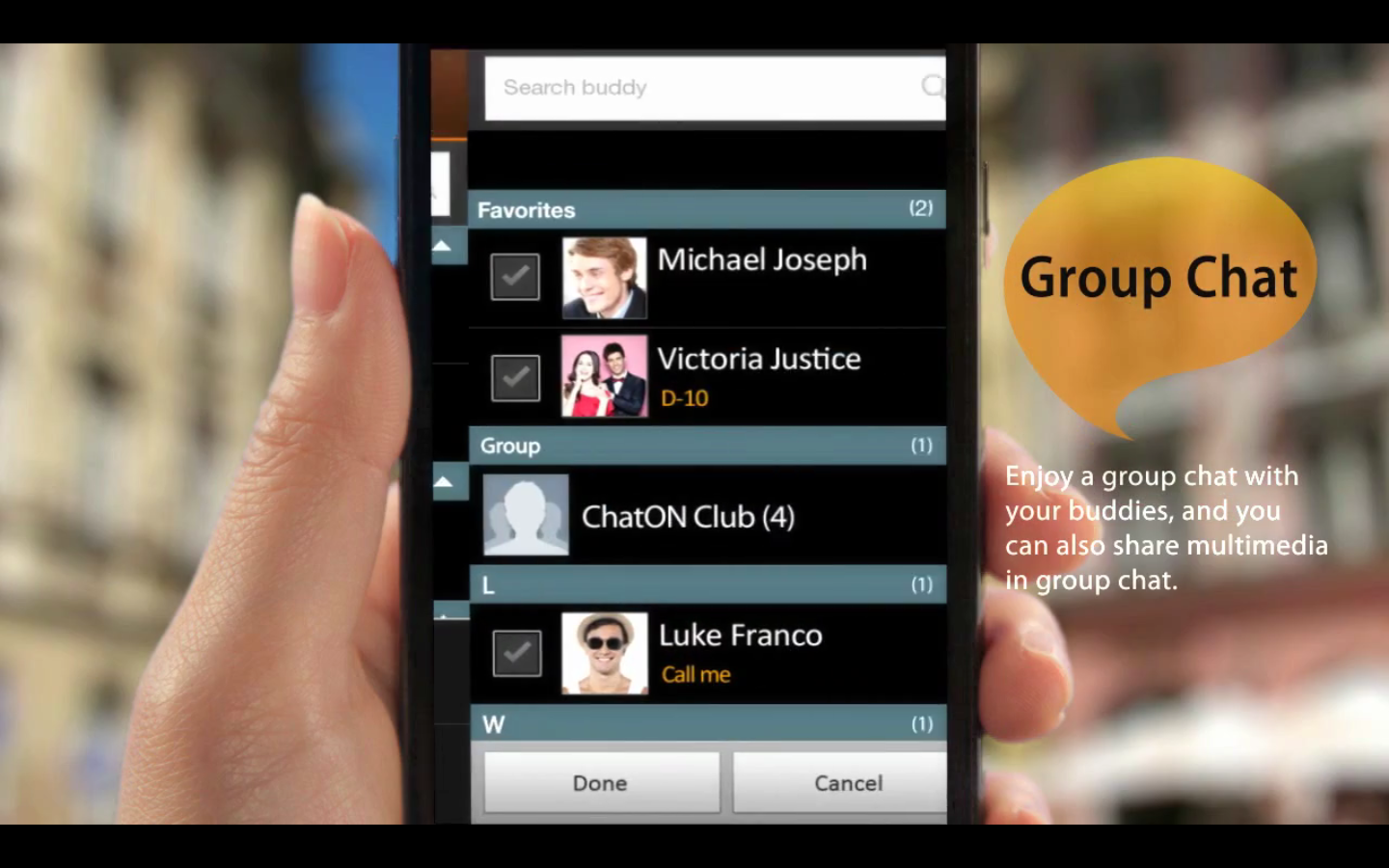 Samsung's new group-messaging app ChatON hits the Android Market