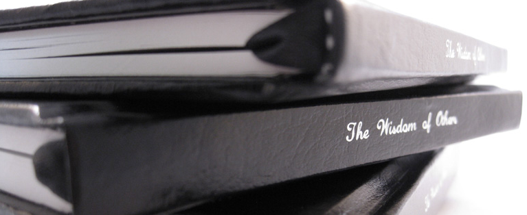 This startup lets you invite others to share wisdom, then binds it in a hardcover book