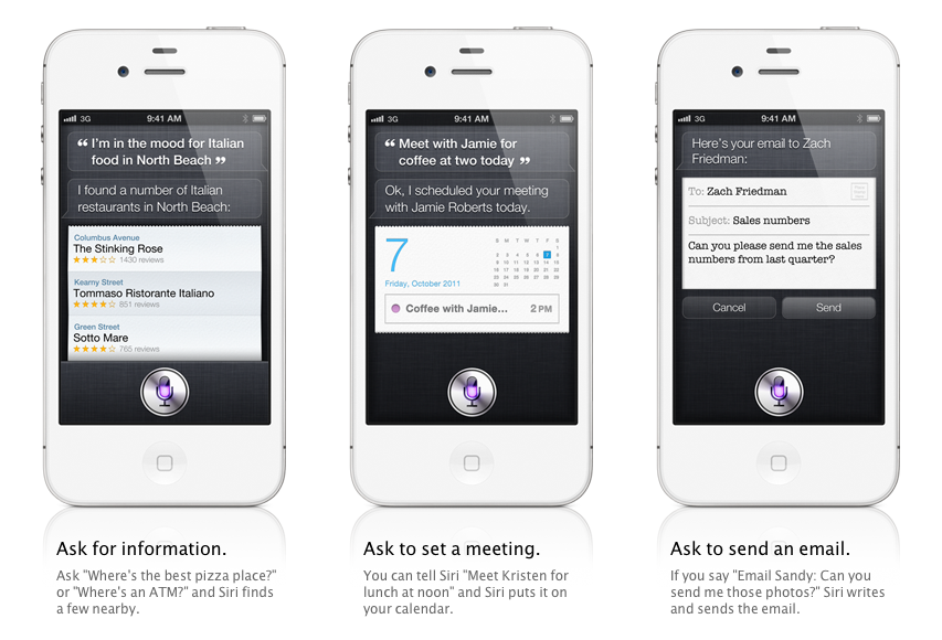 Apple announces voice activated Siri assistant feature for