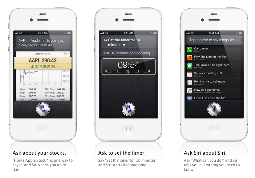 Apple announces voice activated Siri assistant feature for iOS 5, integrates Wolfram Alpha and Wikipedia ...