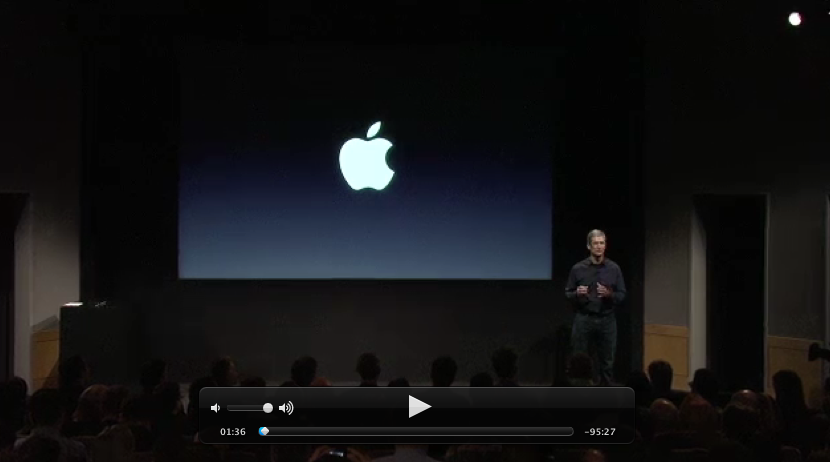 "Watch Apple's entire ""Let's Talk iPhone"" keynote from today"