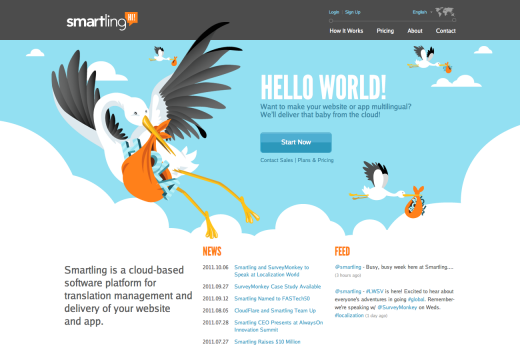Smartling Homepage 520x360 Smartling helps you make your app or website multilingual