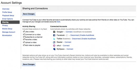 YouTube Broadcast Yourself. 520x268 Connect your YouTube and Google+ accounts to see what friends are sharing