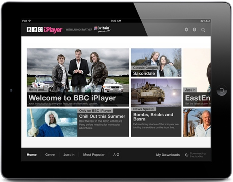 iPlayer BBC Global iPlayer launches on iPad in Finland, Sweden and Denmark