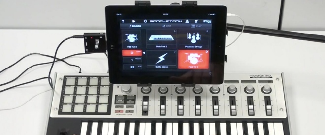 iRig MIDI turns your iOS device into a serious music-making machine