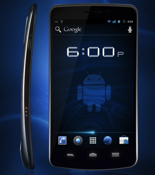 nexus1 520x585 Google and Samsung unveil the Galaxy Nexus and Android 4.0   4.65 inches, 1.2 GHz, 5 MP camera