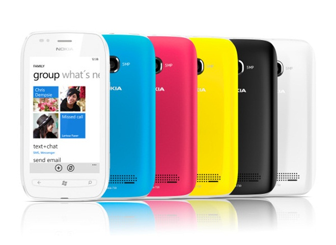 "Nokia introduces ""affordable"" Lumia 710 Windows Phone [available from November]"