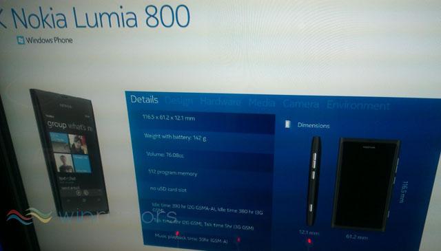 Nokia launching Lumia 800 and Lumia 710 Windows Phone models tomorrow