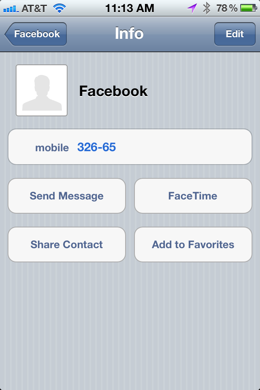 photo 10 Use Siri to update Twitter and Facebook from your iPhone 4S with your voice