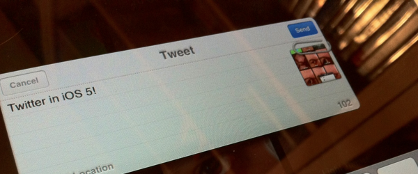 TNW's Guide to iOS 5: Twitter integration