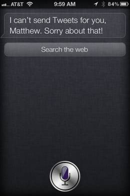 photo 221 Use Siri to update Twitter and Facebook from your iPhone 4S with your voice