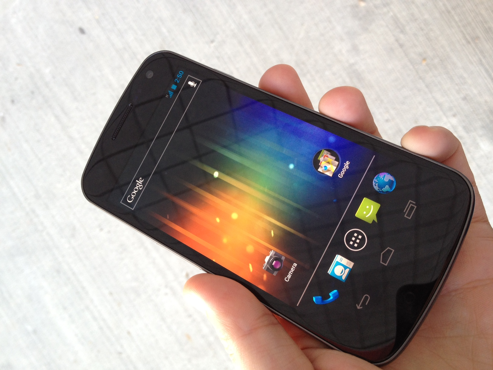 TNW goes hands-on with the Galaxy Nexus [Photos]