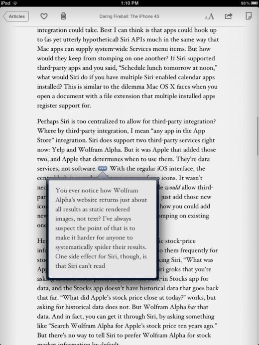 photo 512 520x693 Instapaper 4 stays on page one with a great new design, new ways to get content