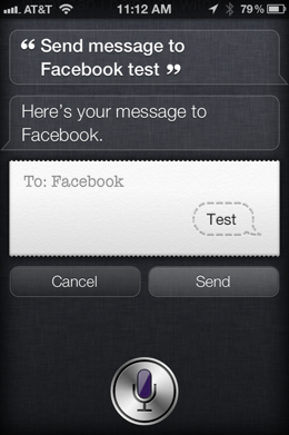 photo 9 Use Siri to update Twitter and Facebook from your iPhone 4S with your voice