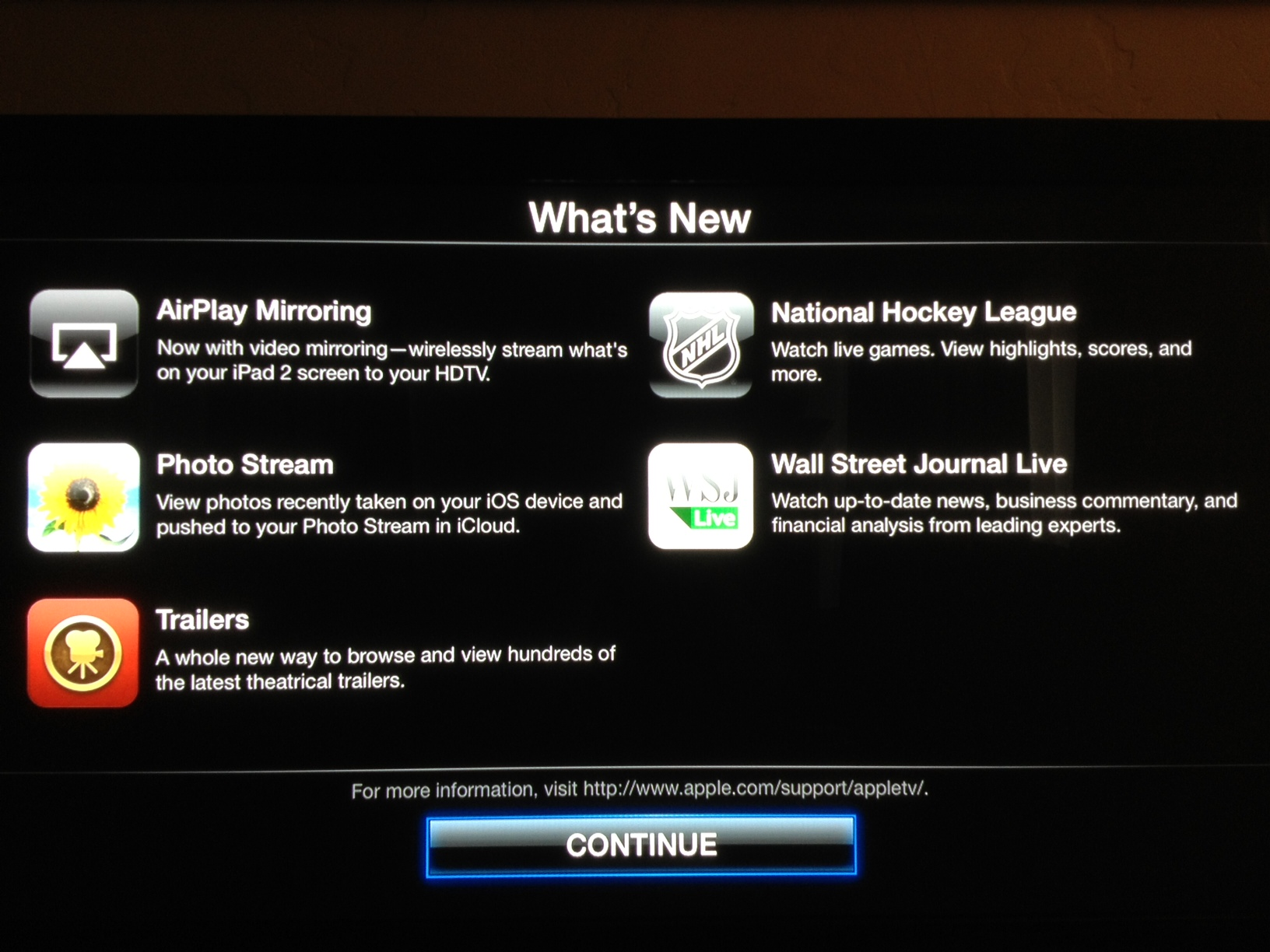 photo8 Apple TV updated to version 4.4.2