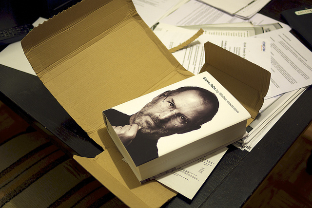 Available for just 15 days, 'Steve Jobs' named in Amazon's Best Books of 2011