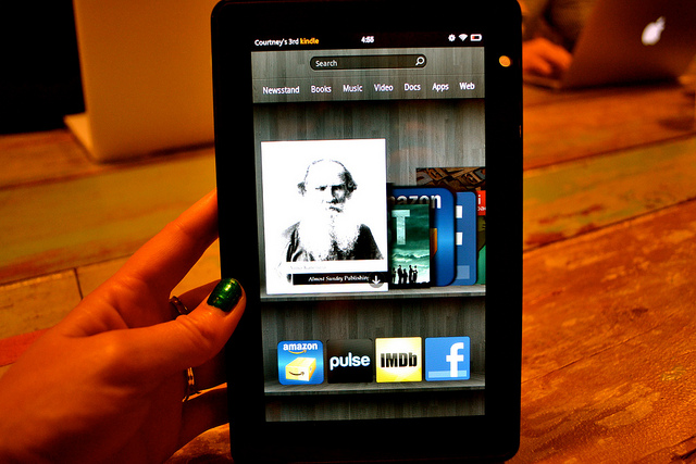Amazon Kindle sales quadruple on Black Friday, Kindle Fire top performer