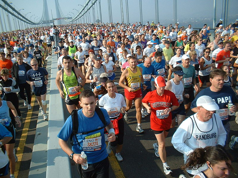 Basno awards virtual badges for NYC Marathon finishers