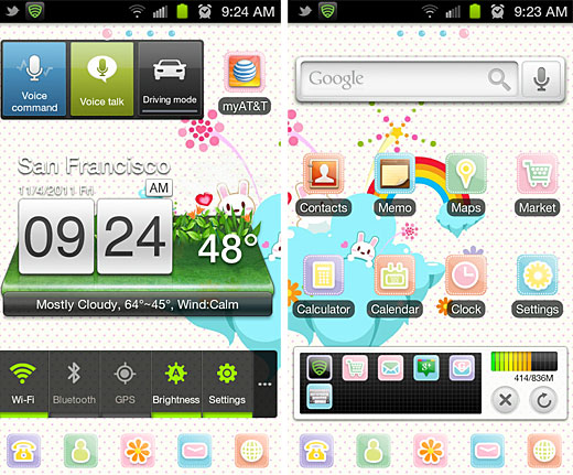 Adorable Going Android: Leaving the iPhone 4 behind, and learning the Samsung Galaxy SII