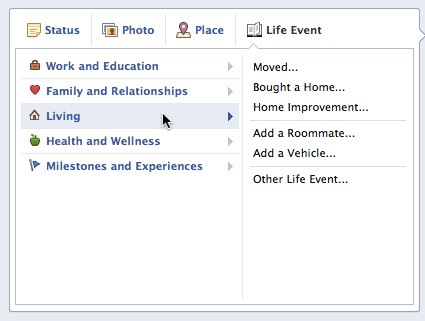 Convofy 12 Facebook wants you to add overly creepy Life Events to your upcoming Timeline