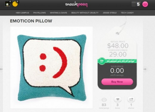 Convofy 25 520x378 With Its Genius Twist, Social Shopping Site sneakpeeq Sees 30% Growth